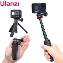 Ulanzi Palo de Selfie extensible para Gopro, palo de Selfie extensible para Vlog Selife Stick, soporte de trípode para Gopro Hero 8/7/6/5 negro/Gopro Max
