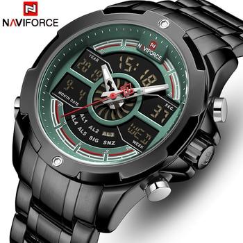 NAVIFORCE 9170 Mens Quartz Watches Top Luxury Brand Waterproofwith box