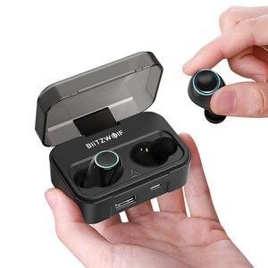 Image 4 - BlitzWolf FYE3S 3 TWS אמיתי אלחוטי Bluetooth 5.0 אוזניות 2600mAh גדול סוללה דיגיטלי כוח תצוגת ספורט אוזניות