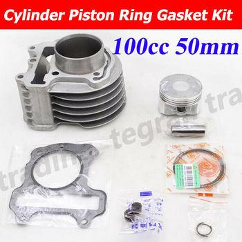Motorcycle Cylinder Rebuilt Kit Piston Ring Gasket for Honda SCV 100 LEAD SCV100 2002-2010 Engine Parts