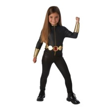 2019 New Costume Child Sexy Black Widow Grand Heritage Girls costume 3pcs/1set suitable 3-9years