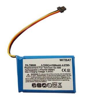 TTVXO 1100mAh Battery for TomTom Go 300,Go 400,Go 500,Go 700,Go 900, 6027A0090721 фото