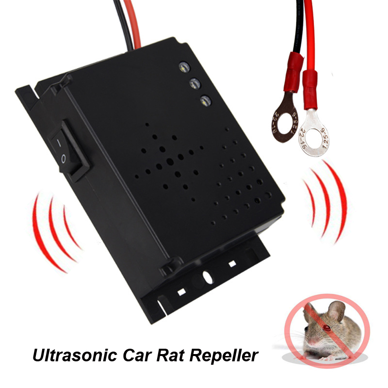 Auto Under Hood Mice Repeller Car Rat Repeller Ultrasonic Rodent Repellent For Vehicle Auto Chases Rat Mice Get Rid Of Rodent