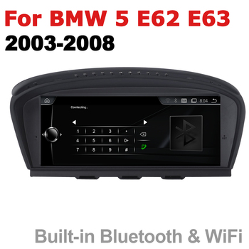 Car Audio Android 7.0 up GPS Navigation For BMW 5 Series E62 E63 2003~2008 CCC WiFi 3G 4G Multimedia player Bluetooth 1080P