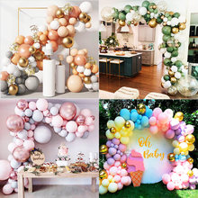 169 pcs Balloons Garland Chain Wreath Metallic Confetti Balloon DIY Wedding Backdrop Arch Baby Shower Birthday Party Decoration