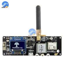 ESP32 chip Bluetooth WiFi inalámbrico módulo LoRa GPS NEO 6M SMA con pantalla OLED 923MHZ