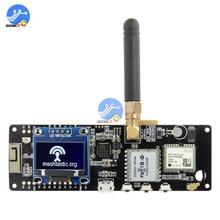 Module sans fil Bluetooth, puce ESP32, LoRa GPS NEO 6M SMA, avec écran OLED, 923MHZ