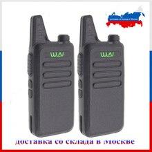 2Pcs Wln KD C1 Walkie Talkie Uhf 400 470 Mhz 16 Kanaals Mini Handheld Transceiver Ham Radio Station wln Radio Communciator