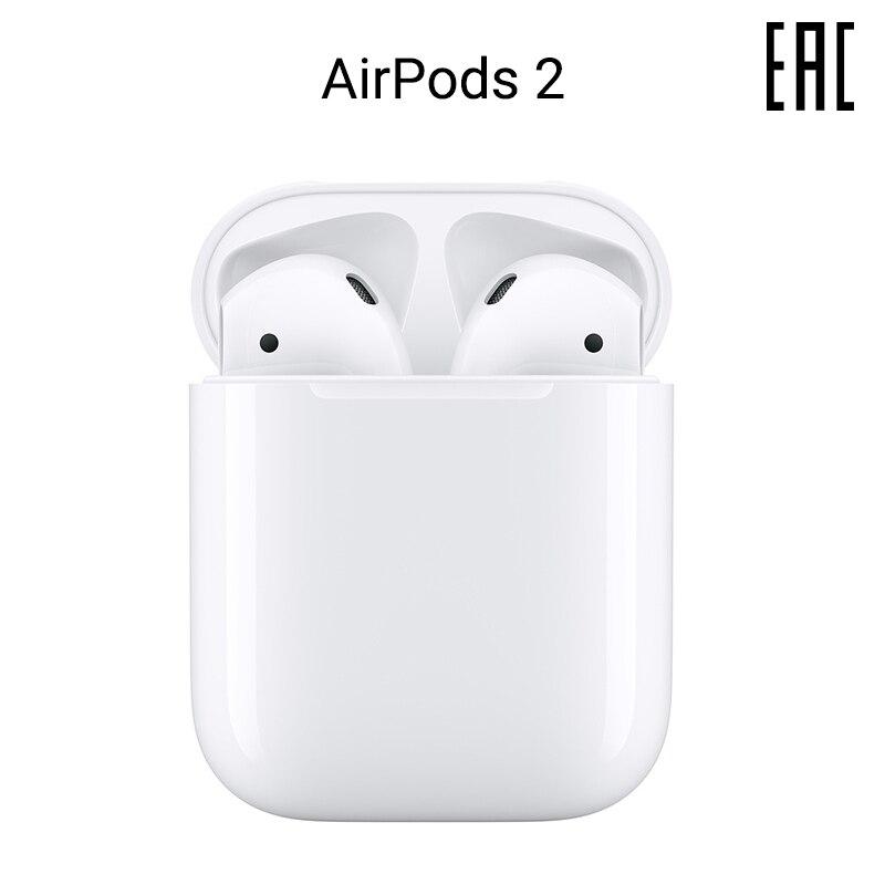 Наушники Apple AirPods 2 без беспроводной зарядки чехла [официальная гарантия]