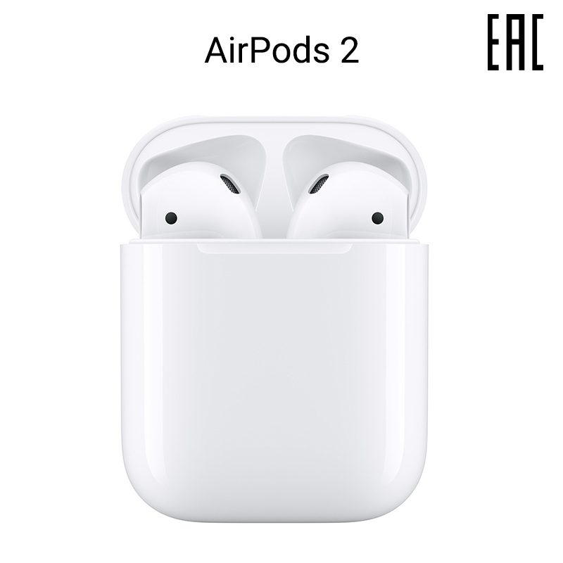 Headphones Apple AirPods 2 without wireless charging case [official warranty]