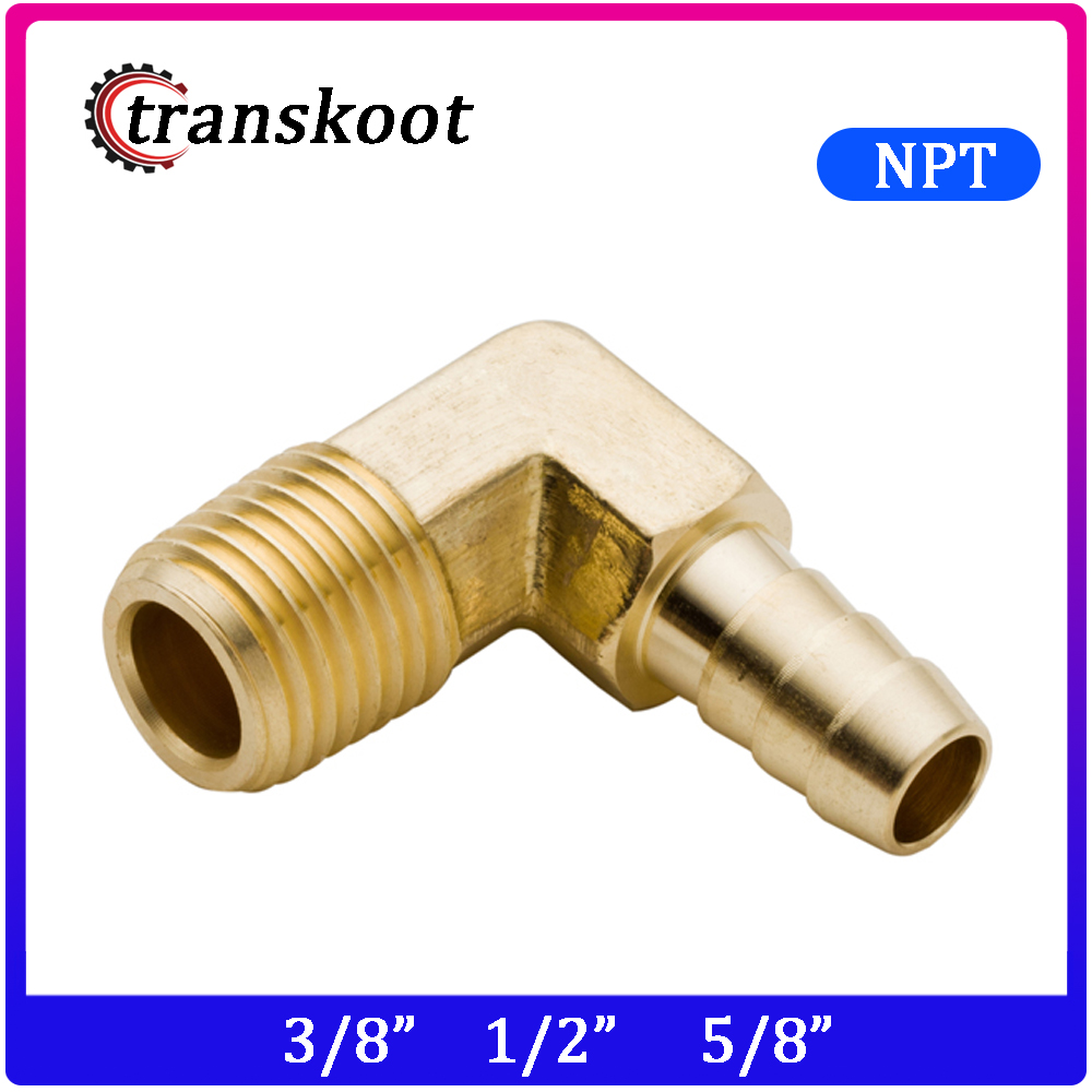 """2 x Brass 1//2/"""" Fuel Oil Water Fittings Hose Barb Tail Fitting suit 1//2/"""" BSP NPT"""
