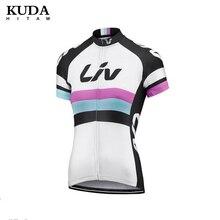 Liv conjunto camisa de ciclismo verão mtb bicicleta roupas maillot ropa ciclismo 100% poliéster corrida roupas ciclismo conjunto