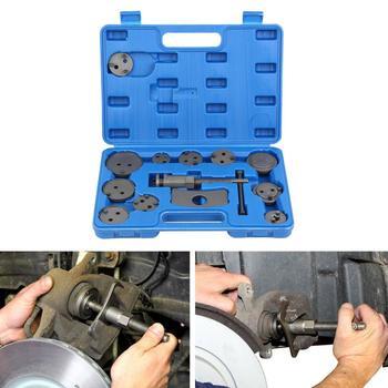 цена на Samger 13pcs Universal Auto Car Brake Piston Reset Set Precision Disc Brake Caliper Wind Back Tool Kit Brake Pad Car Repair Tool
