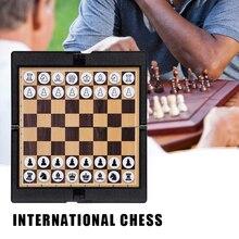 Карманный Кошелек и шахматы для настольных игр, учебный подарочный набор для путешествий, школьный магнитный складной традиционный домашн...