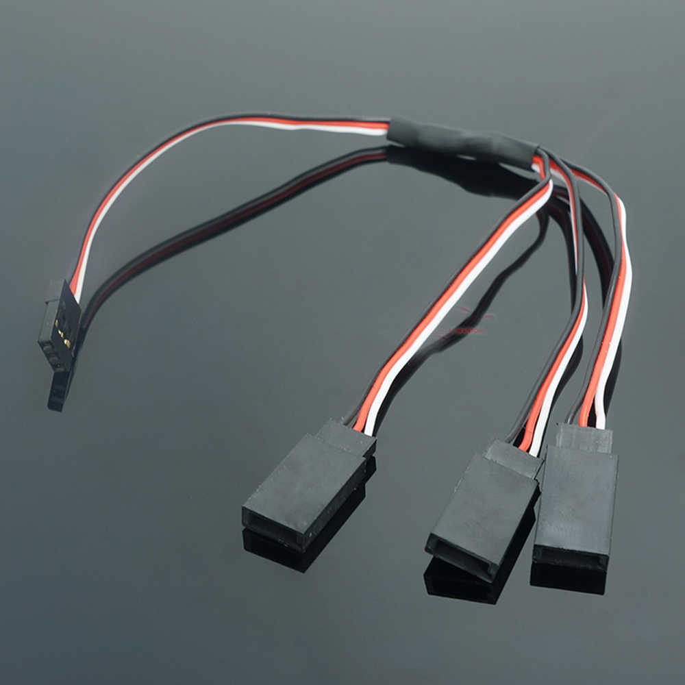 RC Car remote control model cars 15/20/30CM 2-in-1/3-in-1 Y cable servo extension cable connection line
