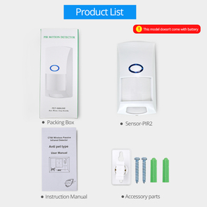 Image 4 - Sonoff PIR2 433Mhz RF PIR Motion Sensor Compatible with RF Bridge for Smart Home Alarm Security