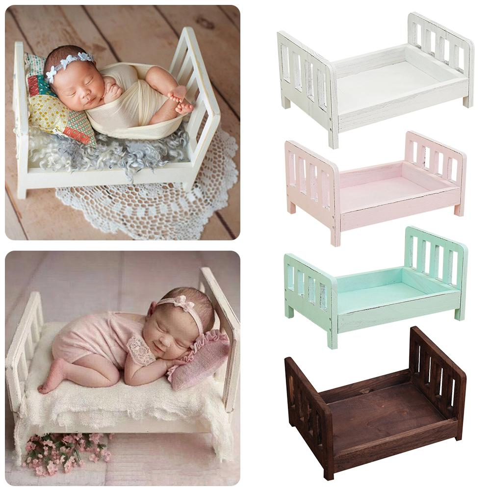 Newborn Baby Bed Photography Props Bed Newborn Posing Photography Props Photo Studio Crib Props For Photo Shoot Posing Sofa