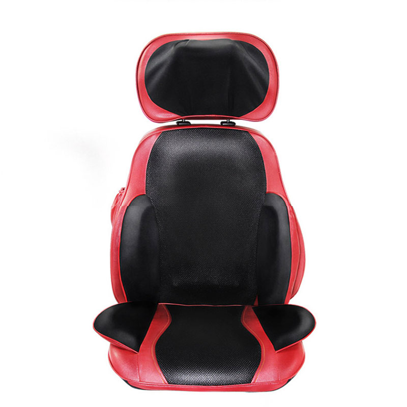 Neck Waist Back Hips Kneading Massage Cushion Heating Vibration Multi-Function Airbag Massage Cushion