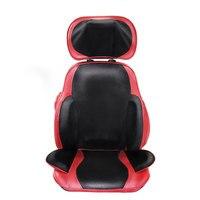 Neck Waist Back Hips Kneading Massage Cushion Heating Vibration Multi Function Airbag Massage Cushion