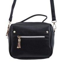 купить Ladies Bag New Fashion PU Leather Wild Shoulder Bag Ladies Shoulder Slung Storage Bag Casual Shopping Handbag по цене 478.71 рублей