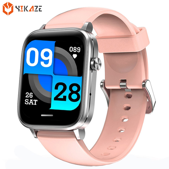 Bluetooth Call Smart Watch Women 2021 Sport Temperature Heart Rate Blood Pressure Fitness Tracker Smartwatch Men for Android Ios 1