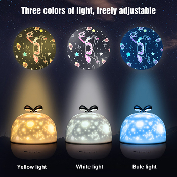 LED Rotating Projection Lamp with Music Starry Sky Romantic Projection Lamp with BT Speaker Night Light Gift for Children wholesale glow in the dark led night light starry luminous toys cosmic sky projection lamp kids toy for children christmas gift