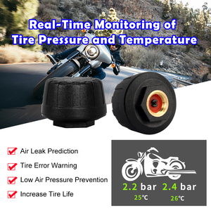 Image 4 - VSYS F4.5 4.5 LCD Motorcycle DVR Moto Camera Recorder with TPMS Smart Gauge Dual 1080P SONY IMX307 Starvis WiFi Waterproof