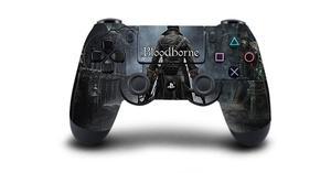 Image 5 - Bloodborne защитный Стикеры Крышка для PS4 контроллера DualShock 4 Playstation 4 Pro Slim наклейка PS4 кожи Стикеры винил