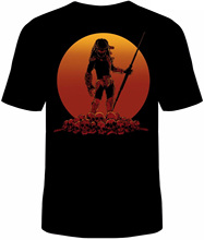 Predator Sunset T-Shirt Unisex Horror Scary Sizes Hunter Fall Halloween New custom printed tshirt T shirt printing 2019 hot tees