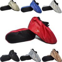 2020 hot shoe cover thickened reusable new indoor dust cover student solid color washable antiskid waterproof shoe cover|Shoe Covers| |  -