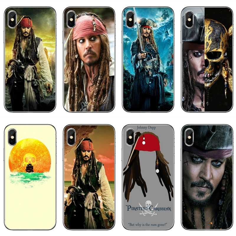 Johnny Depp Pirates Of Caribbean Cover Case Voor Samsung Galaxy M30 A70 A60 A50 A40 A30 A10 A9s A8 A6s j8 J4 J6 Prime Plus 2018