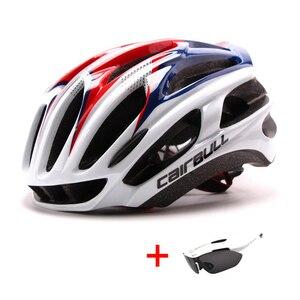 Image 3 - Uomo donna casco da ciclismo da corsa ultraleggero casco da bicicletta MTB modellato integralmente sport allaria aperta Mountain Bike casco da bici da strada