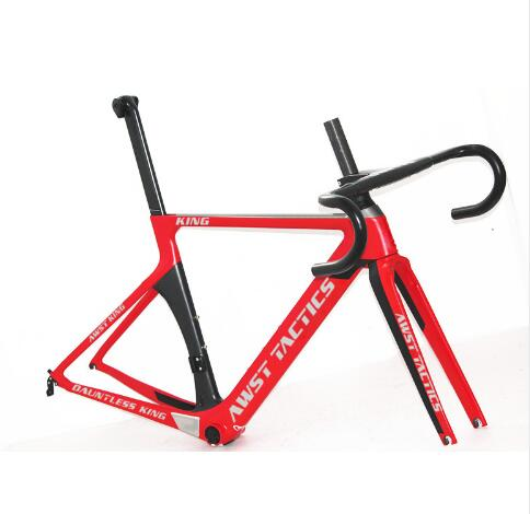 V Brakes Road Bike Frameset  T1100 Cycling Carbon Frame In Bike Xxs/xs/s/m/L Bb368 Frame Carbon Red Black Color Made In Taiwan