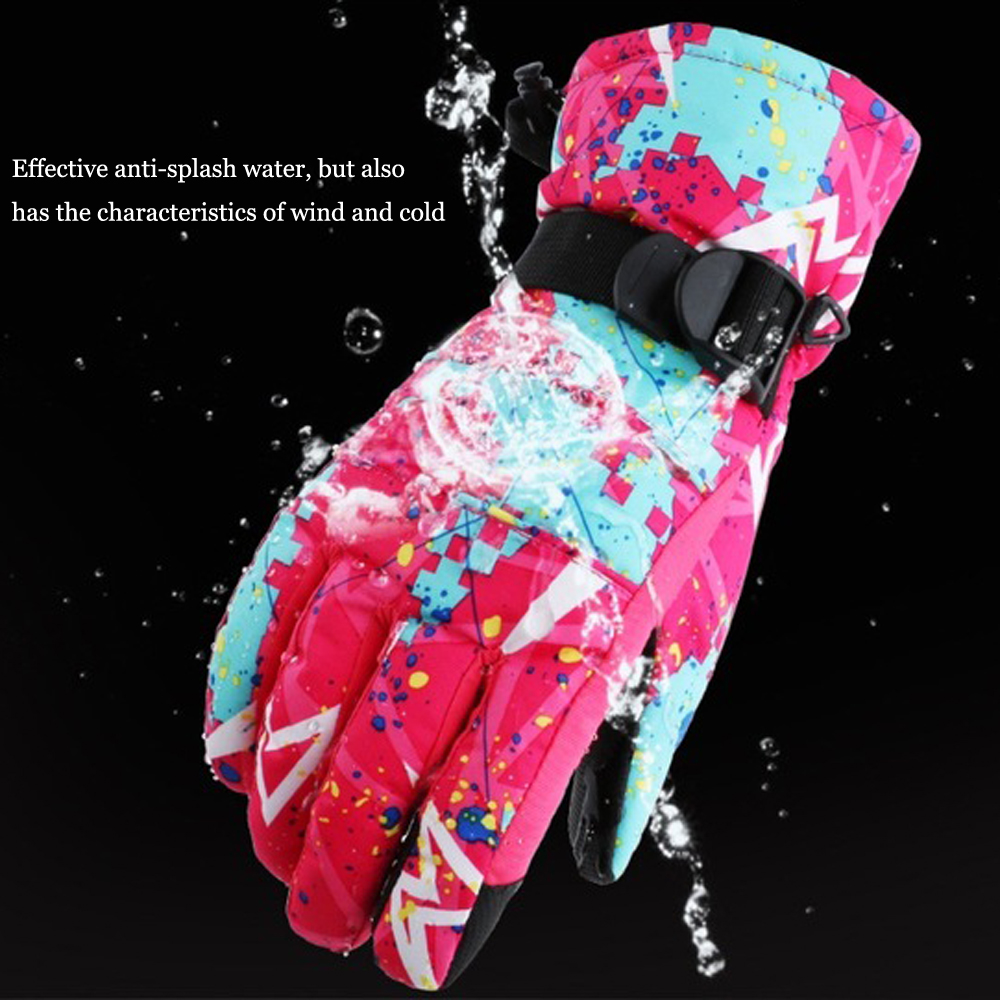 Touchable Snowboard Ski Gloves Windproof Waterproof Teens Breathable Winter Warm Skiing Cycling Snow Women Men Glove