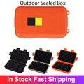 Герметичный уличный коробка Пластик противоударный ящики Водонепроницаемый коробка дорожная сумка для хранения комплект для выживания на...