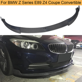 Z series Carbon Fiber Car Front Bumper Lip Spoiler for BMW E89 Z4 Coupe 2 Door 2009-2013 Convertible 20i 28i 30i 35i Non IS image