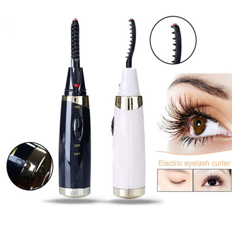 20 Seconds Electric Heated Eyelash Curler USB Electric Heated Makeup Eye Lashes Heated Eyelash Curler Long Lasting Instrume