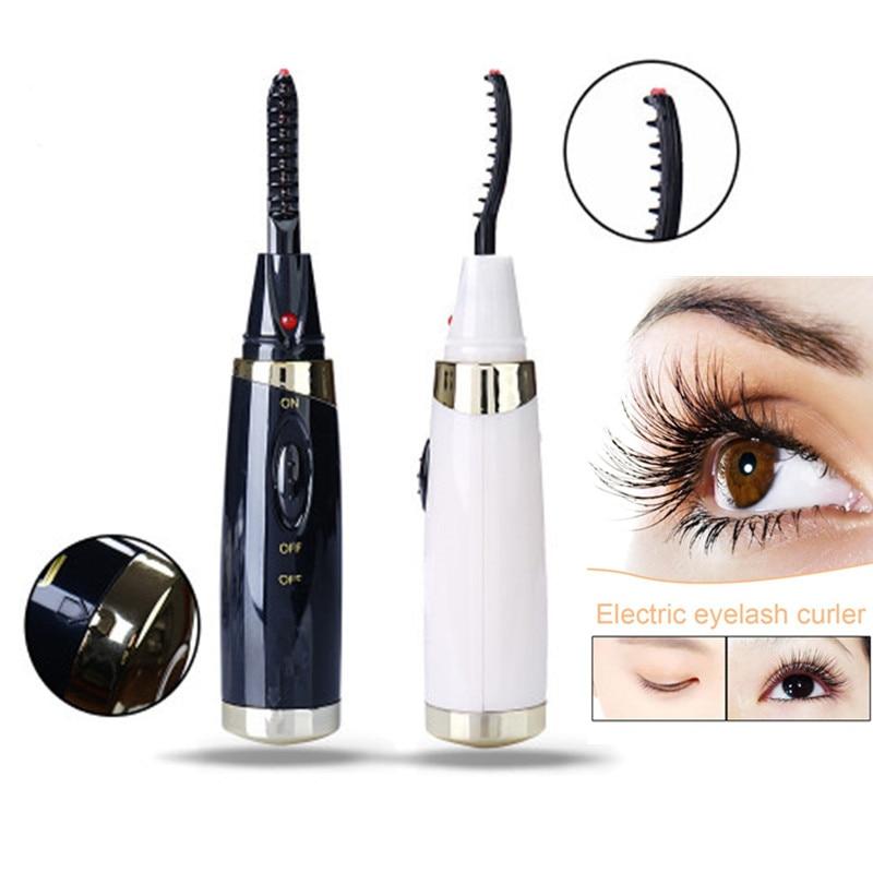 20 Seconds Electric Heated Eyelash Curler USB Electric Heated Makeup Eye Lashes Heated Eyelash Curler Long Lasting Instrume