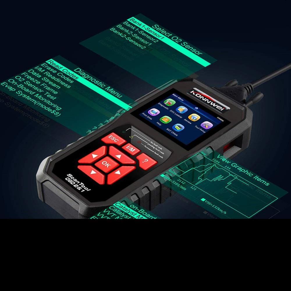KW850 OBD2 KÖNNEN BUS Code Reader auto motor fehler code detektor scanner Tool