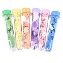 Soap Flower-Shape Paper-Tube Petal Bath Hand-Washing Fruity-Odour Travel Random-Colors