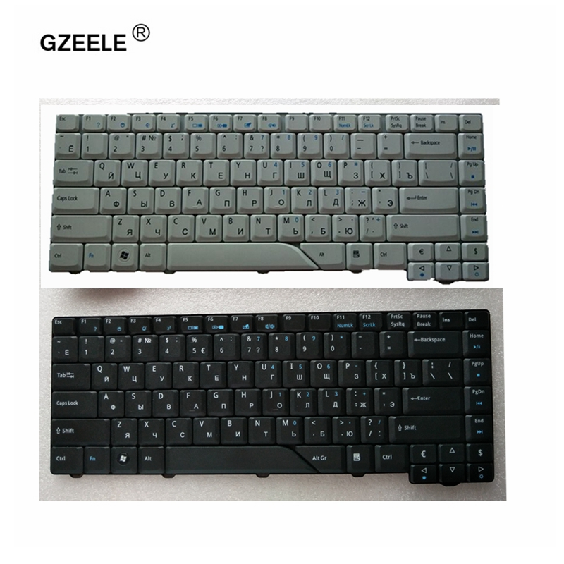 GZEELE New Russian Keyboard For Acer Aspire 4210 4220 4520 4710 4720 4920 5220 5310 5520 5710 5720 5235 5910 5920 5930 4720G
