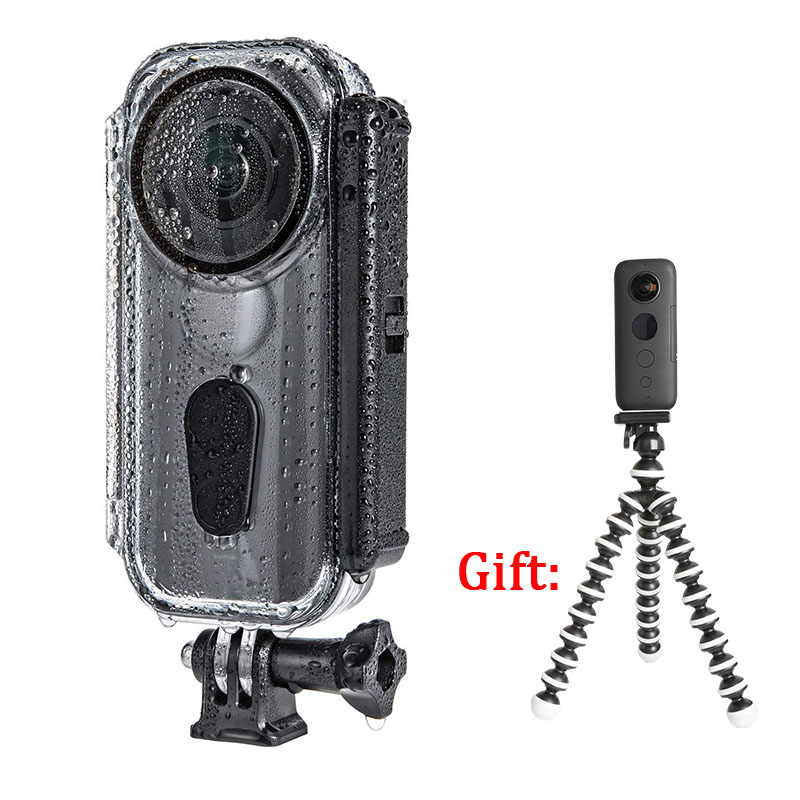 New Version Venture Case For Insta360 One X 5m Diving Waterproof Housing Shell Protective Case For Insta 360 ONE X Accessories