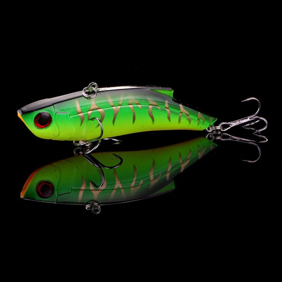 WALK FISH 1PCS Sinking Fishing Lures 9cm 26.9g VIB Bait Rattling Artificial Vibration Bass Vibe Rattle Hooks Baits Pesca Wobbler