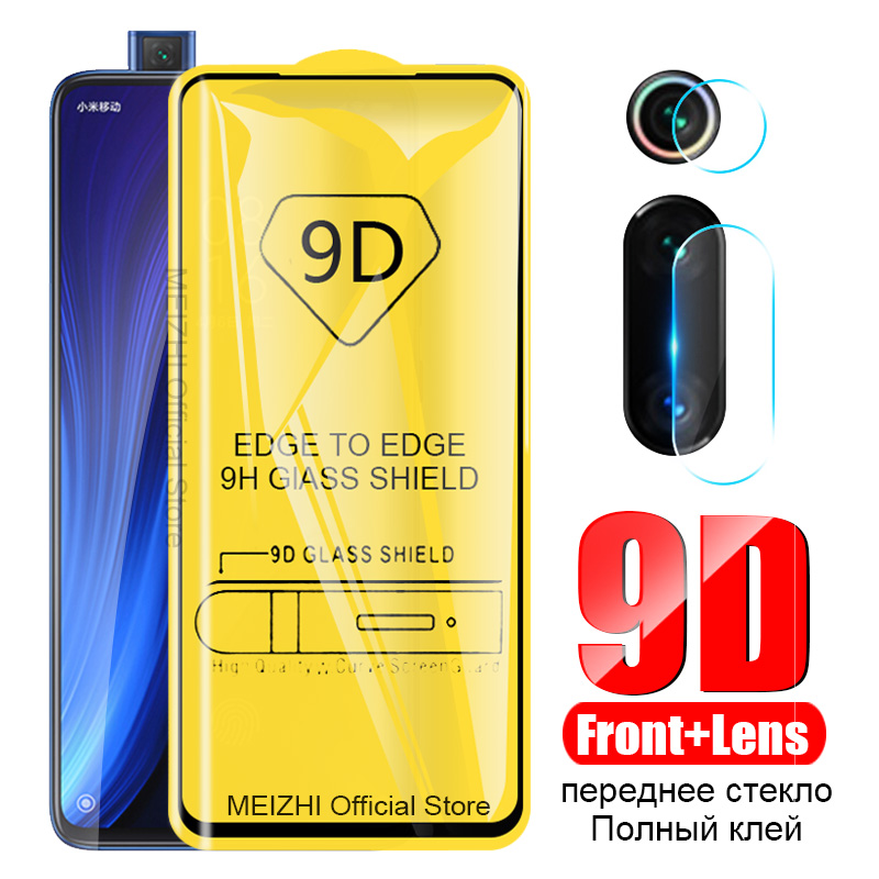 2 In 1 9D Tempered Glass For Xiaomi Mi 9T K20 Pro Camera Screen Protector Safety Film Lens Protect Glass On Redmi Red Mi K20 Pro
