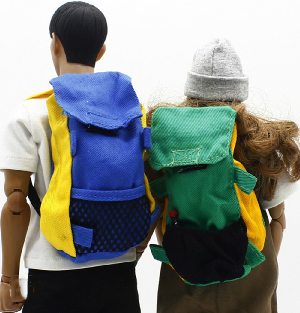 Dragon Green Shoulders Backpack Model 1//6 scale Soldier Figure Clothes Accessory