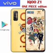 Novo original oficial vivo iqoo z1 5g telefone inteligente uma peça edição limitada 6.57 ''144hz atualizar taxa nfc 4500mah 44w suppervooc