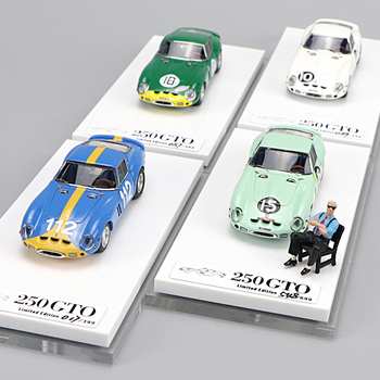 1:64 Scale Resin Car Model 250GTO Limited Racing Car Sent Enzo Doll Decoration Collection Scene Layout Model 1