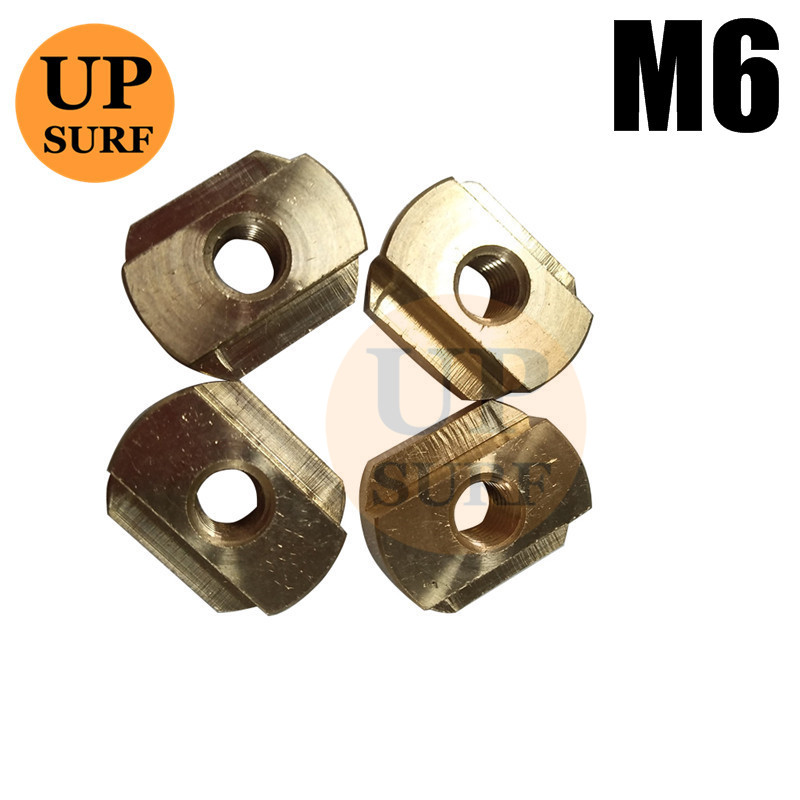 FoilMount 10 Pack Size M8 Hydrofoil Mounting T-Nuts for All Hydrofoil Tracks