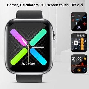 Image 4 - SENBONO 2020 R3L Intelligente Della Vigilanza Degli Uomini Completa di Tocco Inseguitore di Fitness Misuratore di Pressione Sanguigna Intelligente Orologio Da Donna GTS Smartwatch per IOS Android IWO