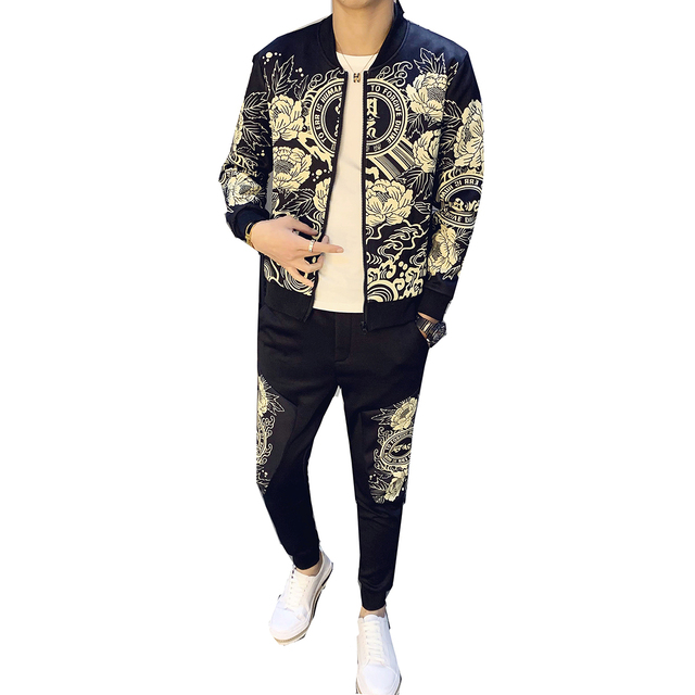 Luxe Athleisure Tracksuit Set 4